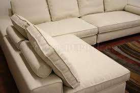 Modular Sectional Sofa Pieces Twill Fabric Modern 3 Piece Modular Sectional Sofa Pegeen Cream