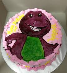 barney birthday cake barney birthday cake buttercup and friends
