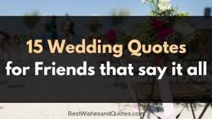 Wedding Quotes Nature Wedding Wishes Archives Best Wishes And Quotes Com Words From