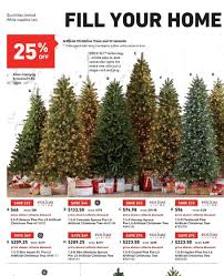 lowes artificial christmas trees with lights holiday living 7 5 crystal pine pre lit artificial christmas tree