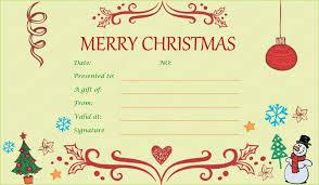 christmas voucher templates free 9 gift voucher template survey