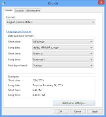 change calendar layout outlook 2013 change the language of the calendar names of the days and months