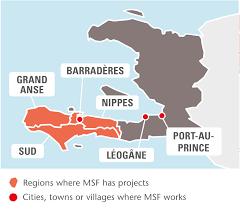 World Map Haiti by