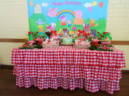 ella u0027s 2nd peppa pig birthday party mum to five