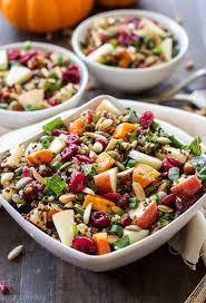 harvest quinoa salad recipe runners thanksgiving and quinoa