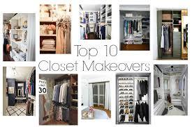 closet makeovers top 10 closet makeover posts i am a homemaker