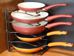 rubbermaid kitchen cabinet organizers cabinet kitchen pan organizer organization products on amazon