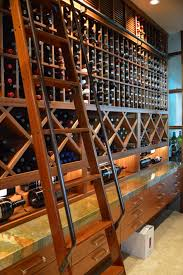 impressive custom wine cellar extension project houston