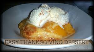 and easy thanksgiving dessert and