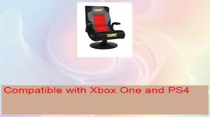 Surround Sound Gaming Chair Brazen Spirit 21 Bluetooth Surround Sound Gaming Chair Youtube