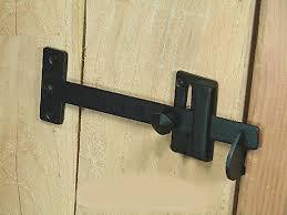 bar gate latch forged iron gate iron and bar