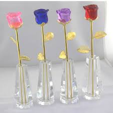 aliexpress com buy 4 colours valentine u0027s day blooming crystal