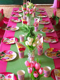 tinkerbell party supplies tinkerbell birthday table decoration image inspiration of cake