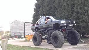 bigfoot monster truck videos youtube monster truck v8 street legal toyota hilux youtube
