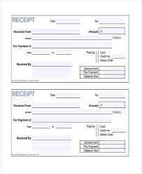 10 cash receipt form sample free sample example format download
