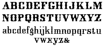 vintage typography spured alphabet fonts the graphics fairy
