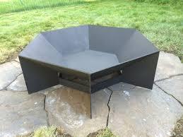 Bbq Side Table Plans Fire Pit Design Ideas - best 25 steel fire pit ideas on pinterest copper fire pit