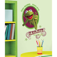 collections popular characters wall2wall the muppets kermit giant removable wall decal