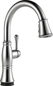 kitchen faucet amazon delta faucet 9197t ar dst cassidy single handle pull kitchen