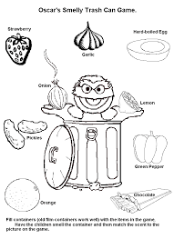 senses coloring pages eson me