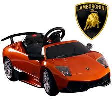 lamborghini murcielago ride on car official 12v orange lamborghini murcielago sv ride on car