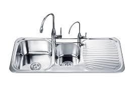 Single Or Double Kitchen Sink Fair Kitchen Sink Double Home - Single or double bowl kitchen sink