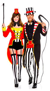 Lion Tamer Costume Radiant Ringmasters Couples Costume Radiant Ringmaster Costume
