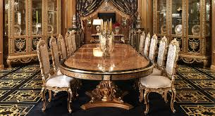 Italian Style Dining Room Furniture Luxurious Dining Room Sets