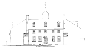 How To Obtain Building Plans For My House Ten Facts About The Mansion George Washington U0027s Mount Vernon