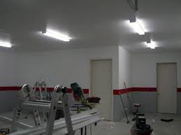 Ceiling Fluorescent Lights 50 Garage Lighting Ideas For Cool Ceiling Fixture Designs