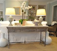 Decorate A Sofa Table Sofa Excellent Sofa Table Ideas How To Decorate Most Inspiring