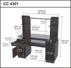 Morgan Computer Desk With Hutch Black Oak by Amazon Com Inval America Cc 4301 Computer Workcenter With Hutch