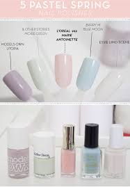 lily melrose uk style and fashion blog 5 spring pastel nail
