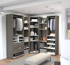 walk in closet furniture walk in closet systems you ll love wayfair