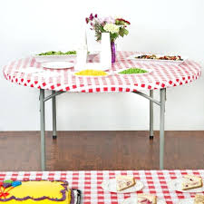 60 inch round elastic table covers fitted plastic table cloth elastic fitted plastic table covers
