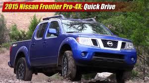frontier nissan 2015 quick drive 2015 nissan frontier pro 4x testdriven tv
