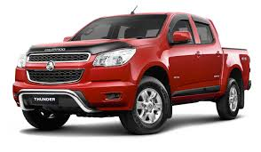 holden car truck colorado thunder special edition utes released