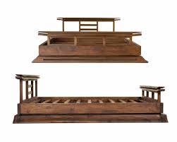 Tatami Platform Bed Frame Furniture Tatami Platform Walnut Splendid Frame Building