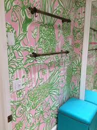 Lilly Pulitzer Home Decor Fabric by Haute Indoor Couture Lilly Pulitzer Wallpaper