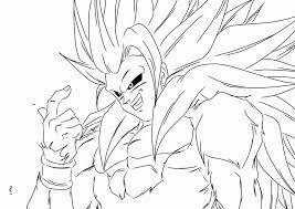 dragon ball coloring pages goku super saiyan 5 i1 jpg coloring