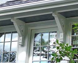 heavy timber brackets and braces