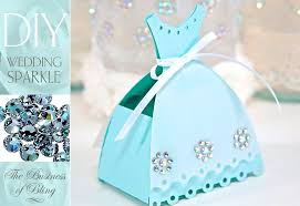 wedding gift boxes diy wedding sparkle with artistic crystals tabletop gift or