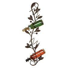 Decorative Wine Racks For Home Decor Extravagant Wall Wine Rack For Interesting Home Accessories