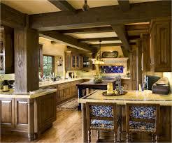kitchen cabinets in spanish kitchen decoration