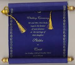 indian wedding scroll invitations wedding invitation cards of muslim inspirational indian wedding