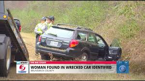 wrecked car body of missing woman found in wrecked car on hwy 74 76 identified