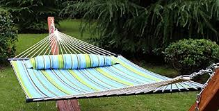 zeny hammock quilted fabric double size spreader bar heavy duty