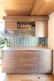 mid century modern walnut kitchen cabinets modern kitchen cabinets beech tree woodworks custom cabinets