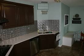Kitchen Backsplash Stick On Decorating Artistic Fasade Backsplash With White Kitchen Cabinets