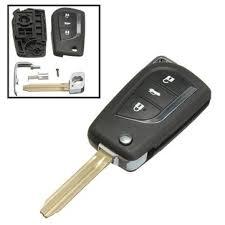 toyota yaris remote key not working remote car key fob cover 3 button flip for toyota yaris echo